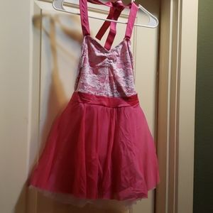 Kelle costume. New dance pink size adult small